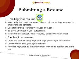 sample email to submit resume sample email cover letter message