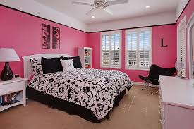 Pink Bedroom Designs For Girls Pink White And Black Bedroom Descargas Mundiales Com