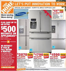2017 black friday ads for home depot kitchen stylish protection plans the home depot refrigerator on