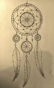 pretty dreamcatchers drawing how to draw a dreamcatcher step by