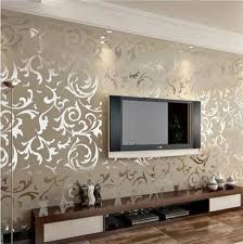 handsome feature wall wallpaper ideas living room 45 about remodel