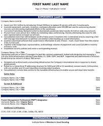 Executive Resume Format Template Chief Operations Officer Resume Sample U0026 Template