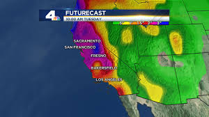 Los Angeles Weather Map by El Nino Anthony Yanez U0027s Weather Blog