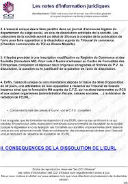 radiation chambre de commerce dissolution d eurl par decision de l associe unique pdf