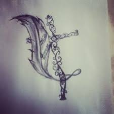 unique cross tattoo i like tattoos pinterest unique cross