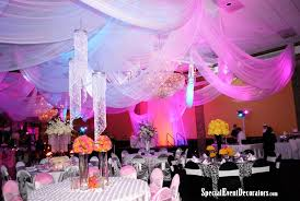 Crystal Chandelier Centerpiece Drape With Crystal Chandelier Centerpieces