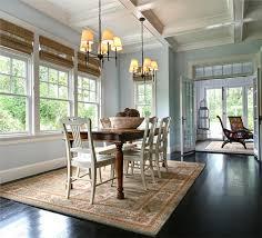 transitional dining room by garrison hullinger