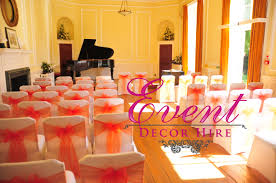 orange wedding theme ideas event decor hire