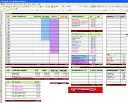 Estimating Spreadsheet Template by Renovation Estimate Template Free Home Renovation Budget