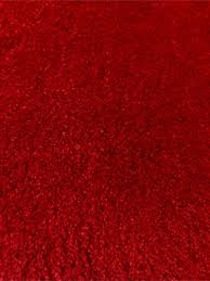 ikea adum large round bright red rug 76 3 4