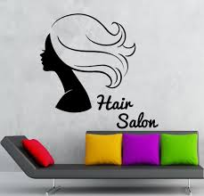 online get cheap hot beautiful girl wallpaper aliexpress hairdresser hairstyle beauty girl wall stickers vinyl decal hair salon poster hot selling wallpaper self adhesive