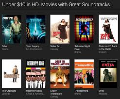 top gun the social network and other itunes movies under 10