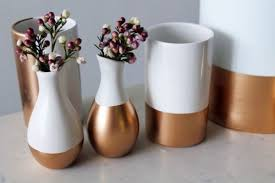 copper decorations diy gold dipped home accessories and decorations spray painting