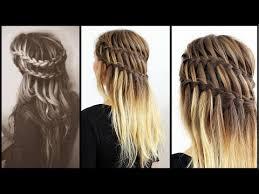 Frisuren Lange Haare Wasserfall by Halboffene Haare Schnell Und Einfach Gestyled Frisuren Freitag