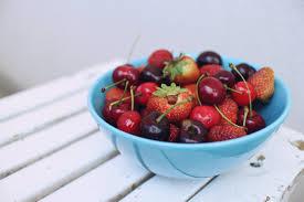 uncategories modern fruit basket red glass bowl fruit and