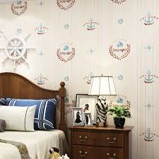 papier peint chambre gar n style méditerranéen vertical bande voyage chambre non tissé de