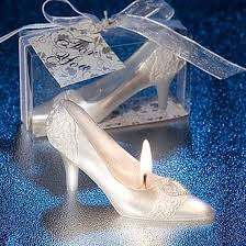 glass slipper party favor wedding cake decorating supplies scented glass slipper