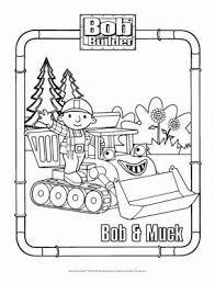 bob muck coloring u2013 bob builder coloring pages
