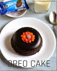 5 minutes microwave eggless oreo biscuit cake recipe chitra u0027s