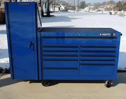 matco 4s blue double bank tool box tools pinterest box and