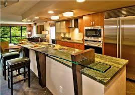 kitchen bars ideas kitchen designs with islands glass breakfast bar ideas