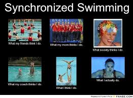 Synchronized Swimming Meme - synchronized swimming meme give your friends a smile and