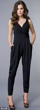 how to wear a jumpsuit how to wear a jumpsuit and not look like lulu daily mail