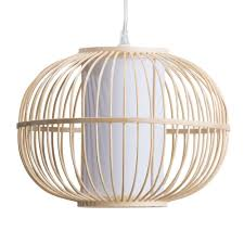 Ceiling Lamp Shades Skittle Easy To Fit Light Shade Rattan Globe Wood From Litecraft