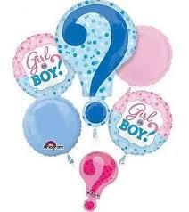 1st birthday balloon delivery girl or boy gender reveal zurchers