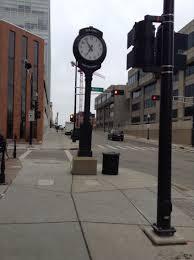 halloween city sheboygan wi madison wi street clocks pinterest