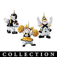 pittsburgh steelers christmas decorations bradford exchange
