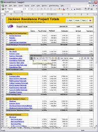 Construction Excel Templates Uda Construction Office 2003 Estimating Screenshots