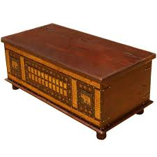 Mango Wood Coffee Table Delhi Golden Elephant Mango Wood Coffee Table Chest