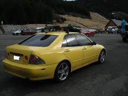 lexus is300 solar yellow just a daily driver in progress lexus is forum