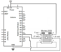 how to build an accelerometer circuit