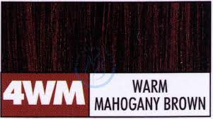 mahogany hair color chart paul mitchell the color permanent cream hair color 3oz 4wm warm