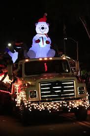 alpine village christmas parade of lights u0026 snow festival friday