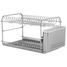 decor u0026 tips hanging disk rack in dish rack stainless steel for