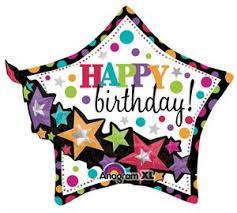 large birthday balloons shaped birthday balloon clearance large foil multi birthday