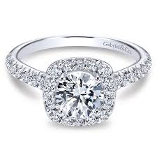 gold halo engagement rings marcotte jewelry 14k white gold halo engagement ring