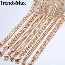 rose gold necklace chains images Rose gold link chains necklace mix tape cover king mix tape jpg