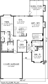 house plans for entertaining luxury one story home plans open concept ranch floor modern style