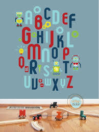 Best Wall Decals Images On Pinterest Playroom Ideas Nursery - Alphabet wall decals for kids rooms
