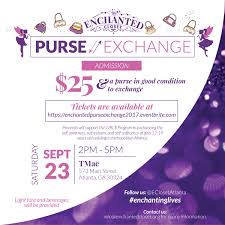 enchanted purse exchange tickets sat sep 23 2017 at 2 00 pm