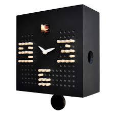 cucu solitario u0027 cuckoo clock black by pirondini mad for mod