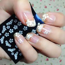 diy home made nail art stickers