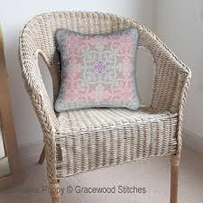 Interior Stitches Gracewood Stitches Winter Daybreak Vintage Textiles Collection