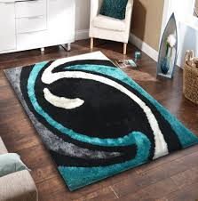 soft black with grey and green indoor bedroom shag area rug rug soft black with grey and green indoor bedroom shag area rug 5 ft x