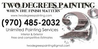 two degrees painting graphics and brand identity by terrel lindsay