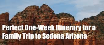 Arizona travel itinerary images Perfect one week sedona arizona spring break itinerary jpg